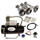 Loud 4 Trumpet 149 Decibels air horn Kit
